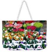 Cologne Flowers Weekender Tote Bag