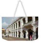 Colombia Courtyard Weekender Tote Bag