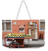 Colombia Fruit Cart Weekender Tote Bag