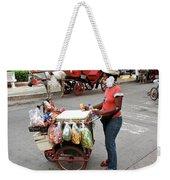 Colombia Srteet Cart Weekender Tote Bag