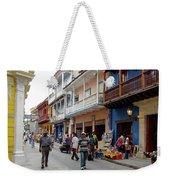 Colombia Streets Weekender Tote Bag