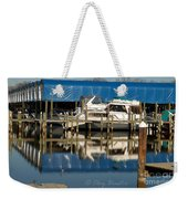 Colonial Beach Marina Weekender Tote Bag
