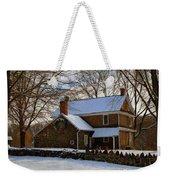 Colonial Christmas Weekender Tote Bag