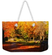 Colonial Fall Colors Weekender Tote Bag