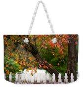 Colonial Fall Colors Weekender Tote Bag