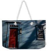 Colonial Red Door Newport Rhode Island Weekender Tote Bag