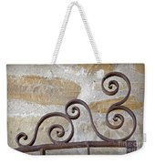 Colonial Wrought Iron Gate Detail Weekender Tote Bag