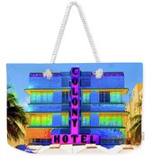 Colony Hotel Palm Weekender Tote Bag