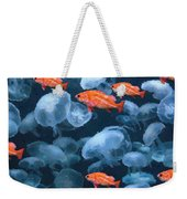 Color And Colorless Fish Weekender Tote Bag