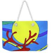 Color Animal Moon Street Art Weekender Tote Bag