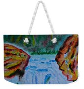 Color At The Firehole Weekender Tote Bag
