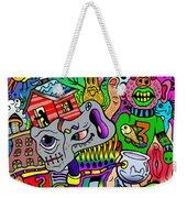 Color Bash Acid Tweeter Weekender Tote Bag