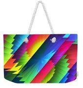 Color Blast Weekender Tote Bag