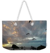 Color Burst Sunset Weekender Tote Bag