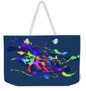 Color Chaos Weekender Tote Bag