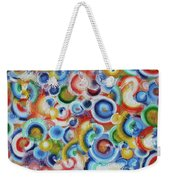 Color Circles 201810 Weekender Tote Bag