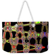 Color Circles Abstract Weekender Tote Bag