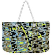 Color Combo Abstraction Weekender Tote Bag