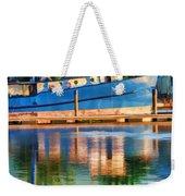 Color Dancing On Water Weekender Tote Bag