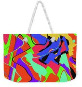 Color Drawing Abstract #3 Weekender Tote Bag