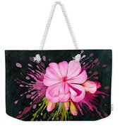 Color Eruption  Weekender Tote Bag by Ivana Westin