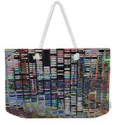 Color Grid - Gold Line Weekender Tote Bag