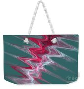 Color In Waves Weekender Tote Bag