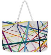 Color Lines Variety Weekender Tote Bag