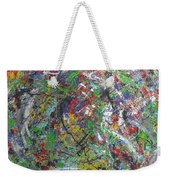 Color Map From The Sky And Ice Figure  Weekender Tote Bag