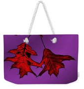 Color Me Autumn Weekender Tote Bag