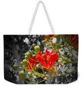 Color Me Red Weekender Tote Bag
