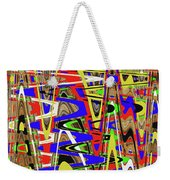 Color Mix Fun Abstract Weekender Tote Bag