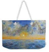 Color Of Ocean Weekender Tote Bag