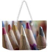 Color Pencils Close-up Weekender Tote Bag