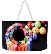 Color Pens2 Weekender Tote Bag