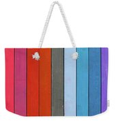 Color Range - Detail Of The Colored Pastels Weekender Tote Bag