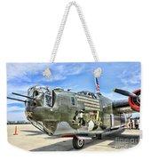 Color Side Wwii B-24j Weekender Tote Bag