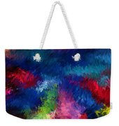Color Splash Abstract 080210 Weekender Tote Bag