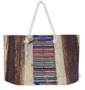 Color Strip Weekender Tote Bag
