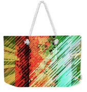 Color Stripes Weekender Tote Bag