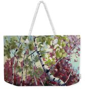 Color Twirl Weekender Tote Bag