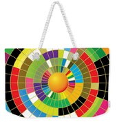 Color Wheel Weekender Tote Bag