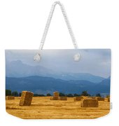 Colorado Agriculture Farming Panorama View Weekender Tote Bag