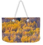 Colorado Autumn Trees Weekender Tote Bag