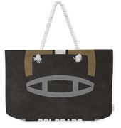 Colorado Buffalos Vintage Football Art Weekender Tote Bag