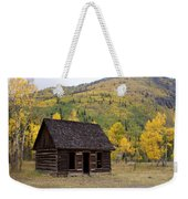 Colorado Cabin Weekender Tote Bag