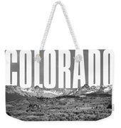 Colorado Cityscape Weekender Tote Bag