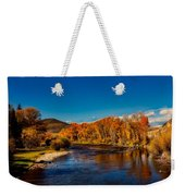 Colorado Cottonwoods In Autumn Weekender Tote Bag
