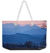 Colorado Country - Boulder County Weekender Tote Bag