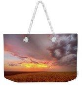Colorado Eastern Plains Sunset Sky Weekender Tote Bag